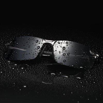 2018新款男士墨鏡太陽鏡開車專用變色偏光鏡司機駕駛復古眼鏡