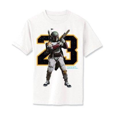 AIR JORDAN 11 x STAR WARS Boba Fett 星戰 T-Shirt NBA AJ 1 4 5 6 7 8 11 Hottoys Sideshow Darth Vader Lego Stormtrooper