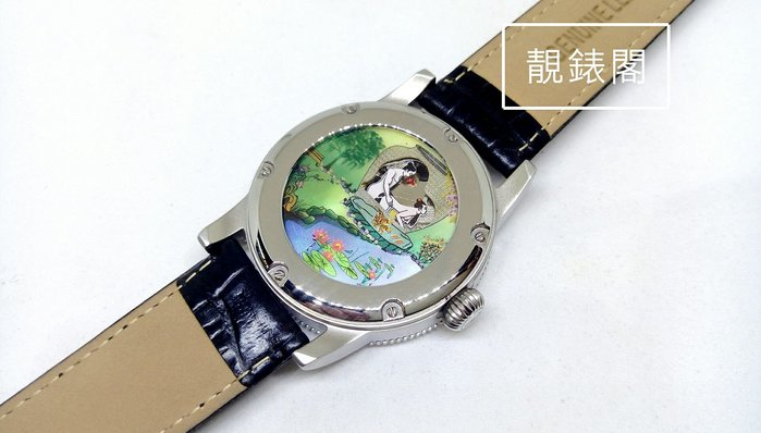 [靚錶閣]絕版機械春宮錶(機械帶動人形動作)