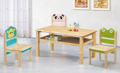 7R【新北蘆洲~偉利傢俱】青蛙兒童椅-編號(R801-4)