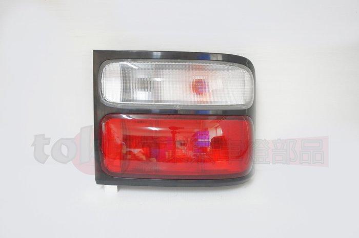 @Tokyo東京車燈部品@豐田 COASTER 中型巴士 原廠型 紅白尾燈含線組