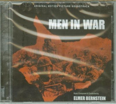 "[原聲帶]-""Men in War""- Elmer Bernstein(86),全新美版,Limited"