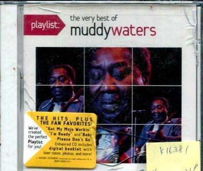 *真音樂* MUDDY WATERS / THE VERY BEST OF 全新 K16381(殼破)