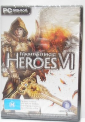 PC DVD GAME MIGHT & MAGIC HEROES VI