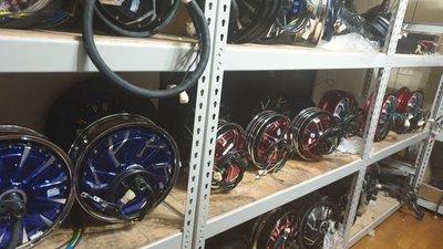 【Qsmotor全順輪轂電機 中置馬達 客制化改裝 電動自行車 電動機車電動摩托車YH E-bike jual beli