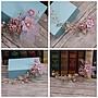 鎏金紫色系列新娘頭飾手工頭花金葉樹枝花朵發飾婚紗配飾品6213
