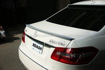 【SD祥登汽車】REAR SPOILER 空力套件 尾翼 後擾流 ABS - 賓士 BENZ W212 E系列 E250 E350 非Carlsson amg