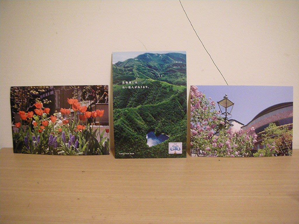 全新日本北海道 [ 白色戀人 ] 專屬風景設計款名信片三張壹組