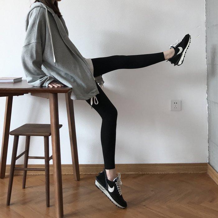 Black Market 實拍顯瘦腿精筷子腿修身彈力瑜伽褲(預購)
