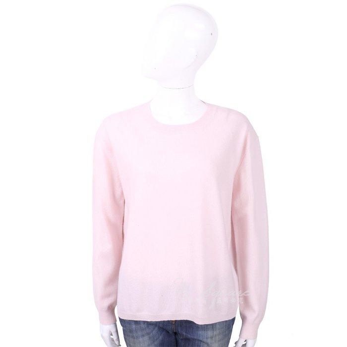 米蘭廣場 ALLUDE 喀什米爾淺粉純色極簡針織羊毛衫 1740248-05