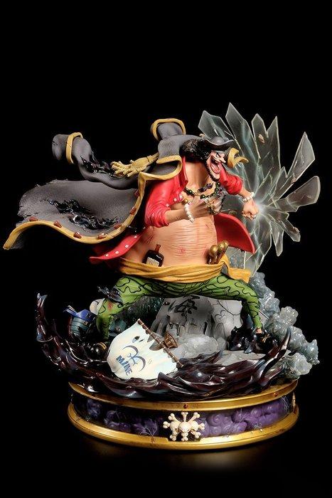 【預購】GK定制ucs黑胡子海賊王gk手辦系列頂上戰爭,黑胡子蒂奇,雕像
