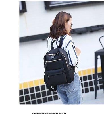 尼龍後背包 多口袋後背包 輕量防潑水尼龍材質 後背包 背包 書包 媽媽包 旅行包 手提包 大學生包 包包 女包