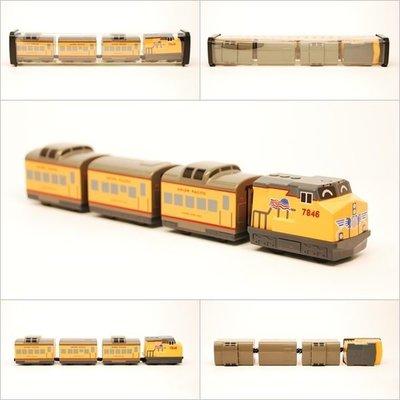 【喵喵模型坊】TOUCH RAIL 鐵支路 Q版 美國UNION PACIFIC小列車  (QV038T1)