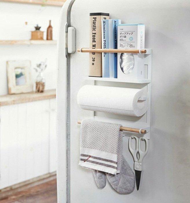 日式冰箱吸磁廚房收納架