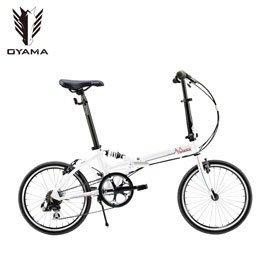 (191單車) OYAMA DAZZLE A168 鋁合金折疊車 20吋(台灣品牌)