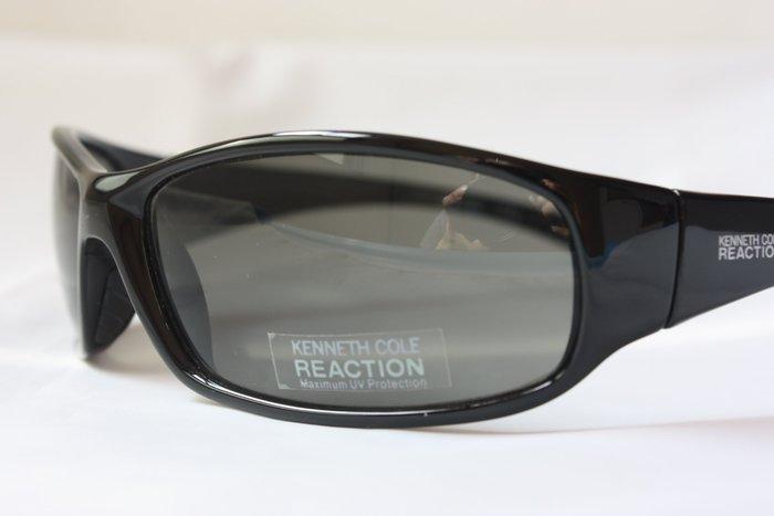 【KENNETH COLE】100% 全新正品 時尚 運動款 太陽眼鏡 墨鏡- 黑色*KCS01M*NEW