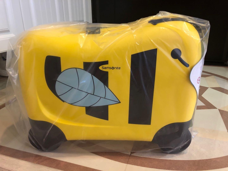 Samsonite新秀麗兒童騎乘行李箱(蜜蜂)