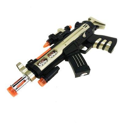佳佳玩具 ----- 紅外線震動槍 語音電動槍 閃光 雷射 震動 音效【CF145356】