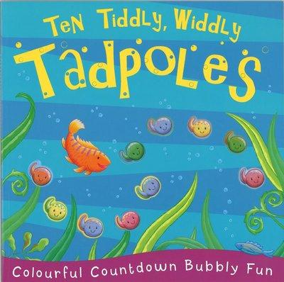 *小貝比的家*TEN TIDDLY WIDDLY TADPOLES/平裝/3~6歲