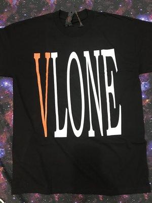【款款】VLONE 橘V Staple 大V 陳冠希 現貨 ASAP rocky edc Edison 黑色短袖