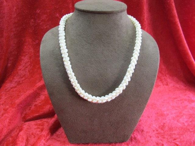 二手舖~ NO.16 天然珍珠項鍊 母親節 手鍊戒指墜子首飾手環耳環 (珍珠大小約2-5mm)