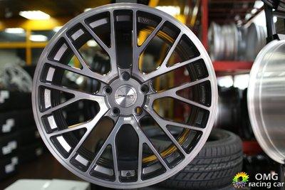 +OMG車坊+全新ASGA 富特麗鋁圈 ARF08 19吋旋壓高強度 5X112 114 8.5J 透明灰髮絲