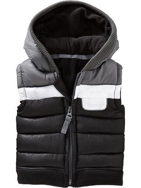 【BJ.GO】美國OLD NAVY Frost Free Hooded Vests for Baby 絨襯裡保暖連帽背心