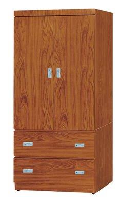 【南洋風休閒傢俱】精選時尚衣櫥 衣櫃 置物櫃 拉門櫃 造型櫃設計櫃- 柚木3*6尺衣櫥 CY66-436