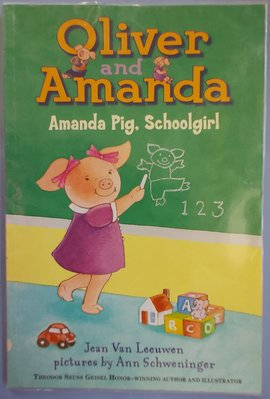Oliver and Amanda/Amanda Pig,schoolgirl~英文繪本