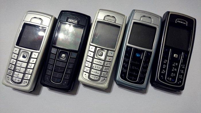 ☆1到6手機☆ NOKIA 6230i 手機 備用《附電池+全新旅充》功能正常 可超商取貨付款  另有3310 8250