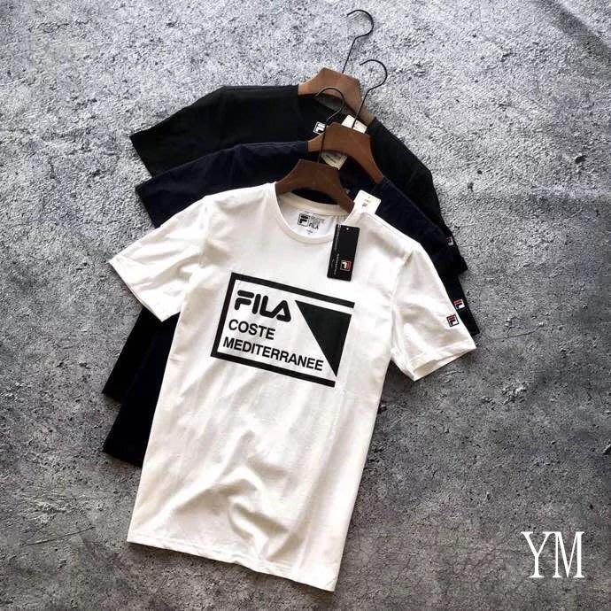 【FashionKiosk】2018 春夏FILA男款運動短T-shirt~01