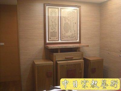 【現代佛堂設計鑒賞52】神明廳佛俱精品神桌佛桌神櫥公媽桌神像佛像祖先龕神聯佛聯製作