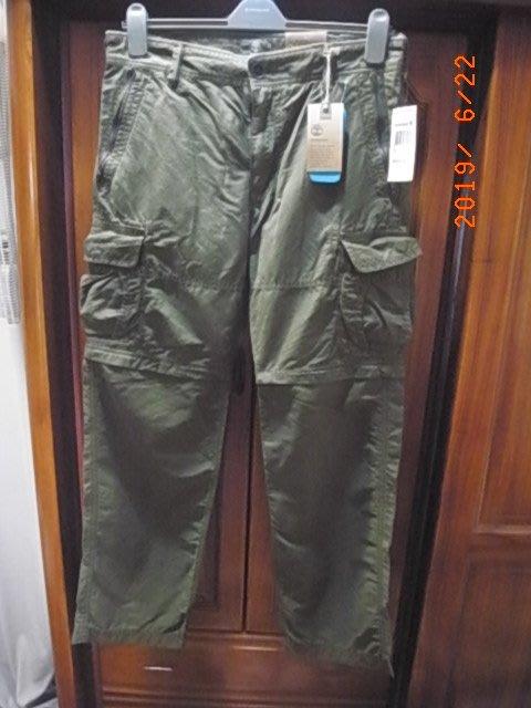 正品Timberland 兩節式工作, 登山長褲 W33/ L32