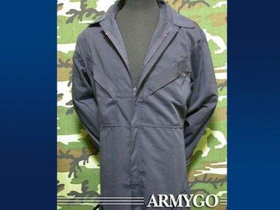 【ARMYGO】國軍連身工作服 (深藍色)
