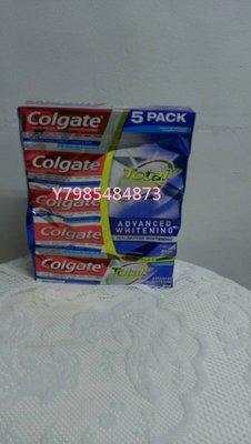 【COSTCO】好市多Colgate 高露潔 全效潔白牙膏(181g*5入)促銷價579元(可面交或全家取貨)