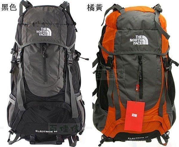 【優上精品】特 超大容量防水登山包北臉背包 雙肩包戶外包旅遊包60L(送防雨(Z-P3113)