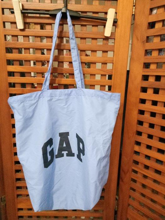 天使熊雜貨小舖~GAP環保購物袋 現貨:紅/藍色2款  全新現貨