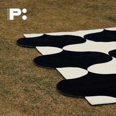 PRINT:HI專利設計UNLESS系列地毯沙發地墊北歐簡約地毯臥室床邊毯