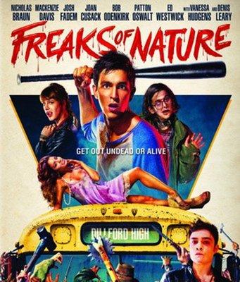【藍光電影】BD50 怪物大亂鬥/怪獸高中 怪胎聯盟 Freaks of Nature 88-040