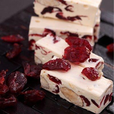 櫻桃爺爺  Cherry Grandfather 紅寶石蔓越莓牛軋糖450g