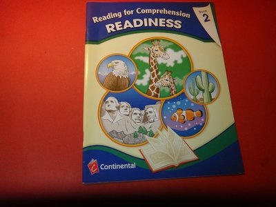 【愛悅二手書坊 11-54】READINESS Book 2  Continental Press