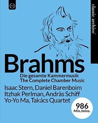 【藍光BD】布拉姆斯室內樂全集/歐伊斯特拉夫〈小提琴〉---8024264014