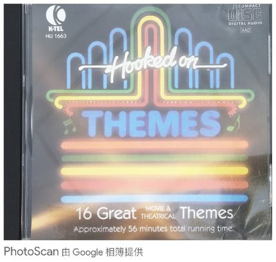 B198-外盒滑痕-Hooked On Themes 美國製造 無IFPI CD
