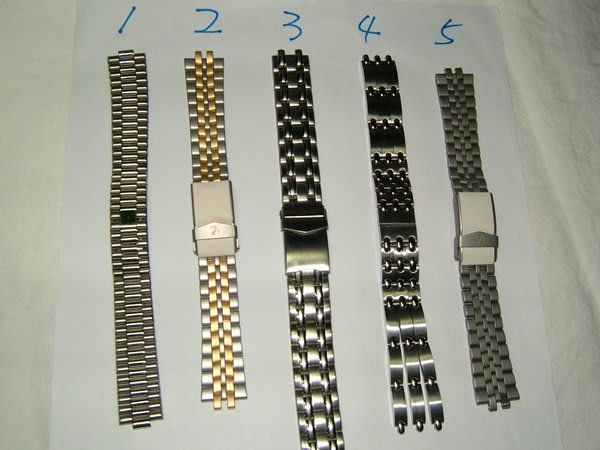 全心全益低價特賣*伊陸發鐘錶百貨* 男錶實心錶帶 *多種錶帶可供選擇**每條299元