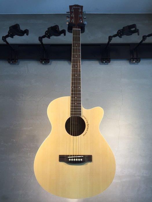 【六絃樂器】全新精選 Talent 39吋 原木色民謠吉他 / 現貨特價