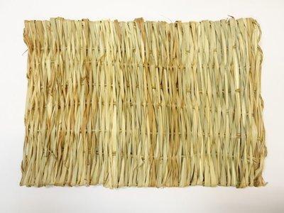 【優比寵物】天然牧草-草編睡墊/牧草墊(長40公分 * 寬28公分 ) 促銷特價中