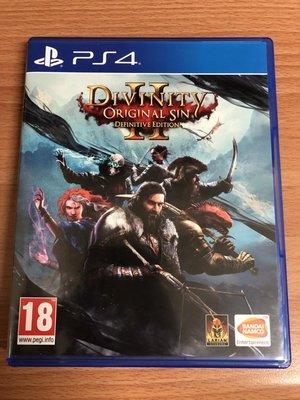 PS4 神諭 原罪 2 Divinity Original Sin 2 歐版英文版(更新後有繁體中文) 二手 可取貨付款