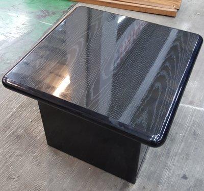 宏品二手家具館~中古 A51405黑面小茶几*客廳沙發桌 角落桌 電話桌 泡茶桌椅 餐桌 電腦桌 書桌椅