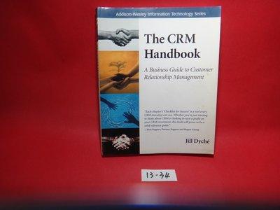 【愛悅二手書坊 13-34】The CRM Handbook