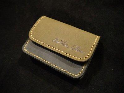 KH手工皮革工作室 MIT雙層牛皮零錢包信用卡證件卡片悠遊卡鈔票小皮夾短夾 配色自選生日禮物情人節實體店面經營可免費燙字